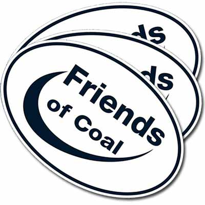 Наклейки Friends of Coal