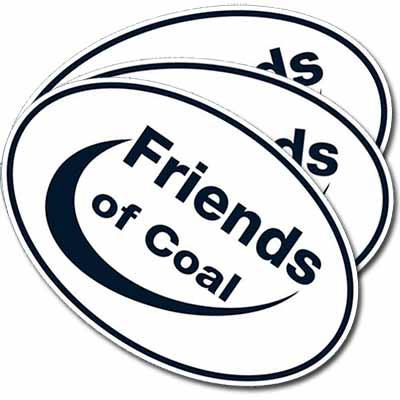 Наклейки Friends of Coal