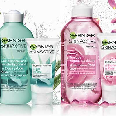 Бесплатная косметика Garnier SkinActive