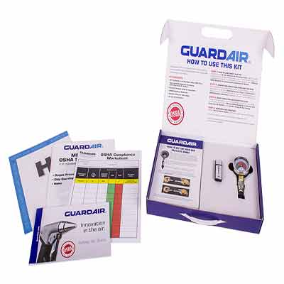 Промо набор и флешка от Guardair Corporation