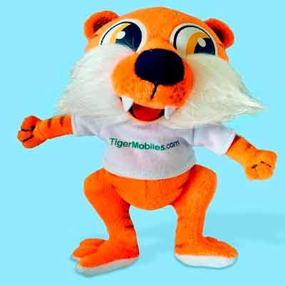 Бесплатная мягкая игрушка от Tiger Mobiles