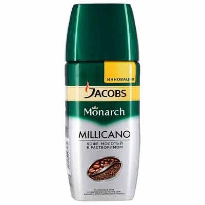 Бесплатный образец кофе Jacobs Monarch Millicano