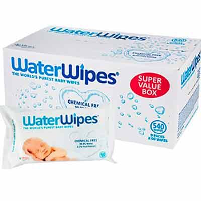 Влажные салфетки WaterWipes