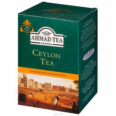 Бесплатный чай Ahmad Tea.