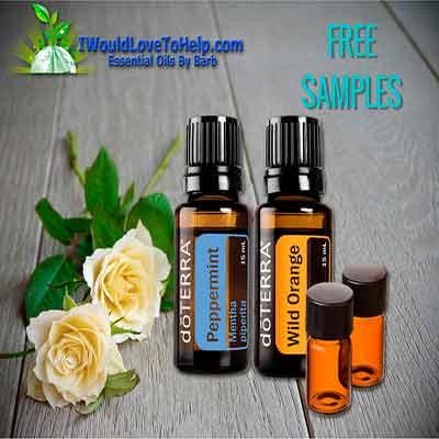 Бесплатные образцы эфирных масел Peppermint и Wild Orange.