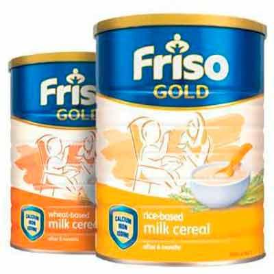 Бесплатные образцы детского питания Friso Gold.