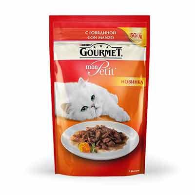 Бесплатные корма GOURMET