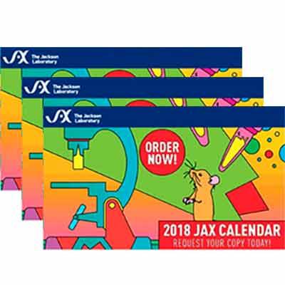 Бесплатные календари JAX на 2018.