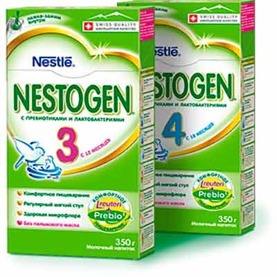 Тестирование детского молочка Nestogen 3 и Nestogen 4
