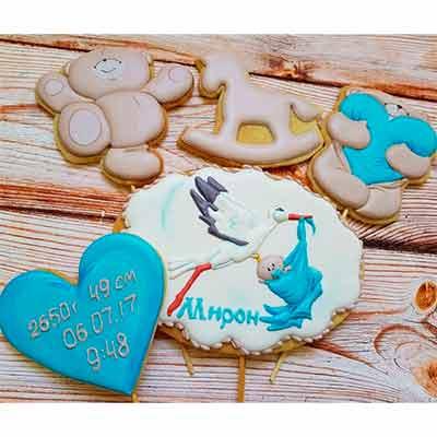 Бесплатный пробник дизайнерского печенья от студии «Город мастеров».
