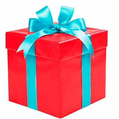 Бесплатная рождественская коробочка образцов и подарков.