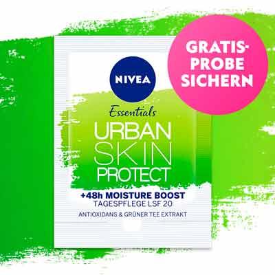 Бесплатный образец крема NIVEA Urban Skin Protect