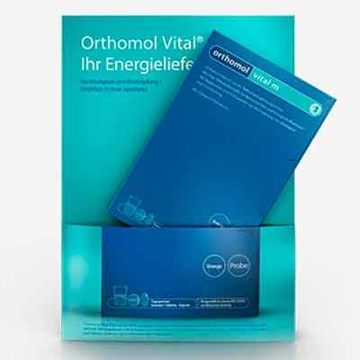 Бесплатные образцы пищевых добавок Orthomol Vital
