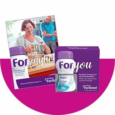Бесплатная коробочка диетического питания Fortimel