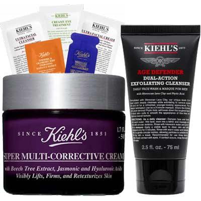 Бесплатный набор образцов средств Kiehl's за прохождение теста