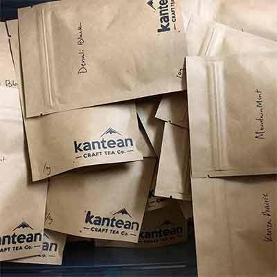 Бесплатные образцы чая Kantean