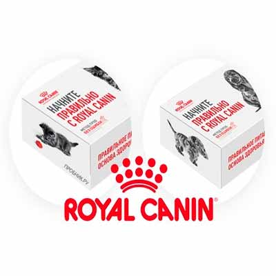 Бесплатный набор корма Royal Canin