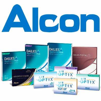 Бесплатные линзы Alcon