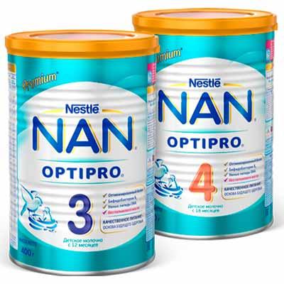 Бесплатное тестирование детского молочка NAN