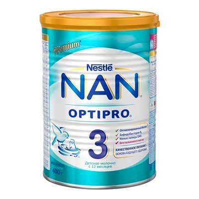 Бесплатное тестирование молочка NAN 3