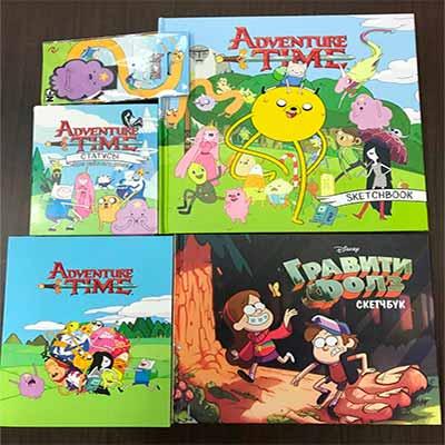 Бесплатные призы с символикой мультфильмов