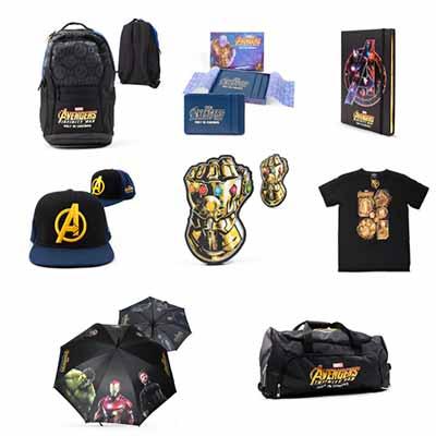 Бесплатные вещи с символикой Мстителей