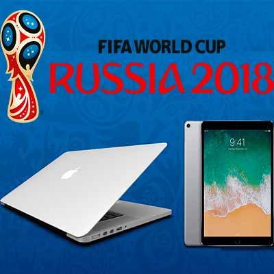 Призы от Чемпионата Мира по Футболу 2018