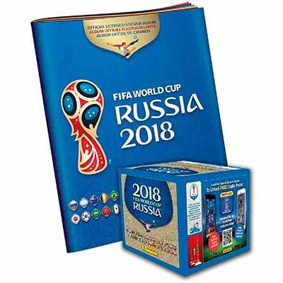 Бесплатный альбом FIFA World Cup Russia 2018