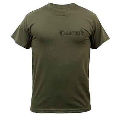 Бесплатная футболка Paradosiaka