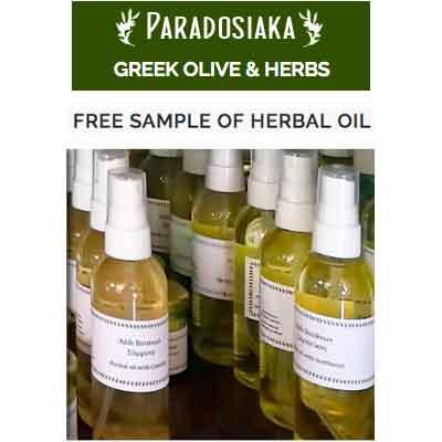Бесплатное масло от Paradosiaka