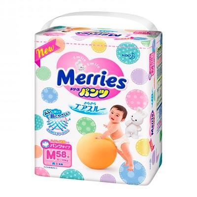 Бесплатное тестирование трусиков от компании Merries