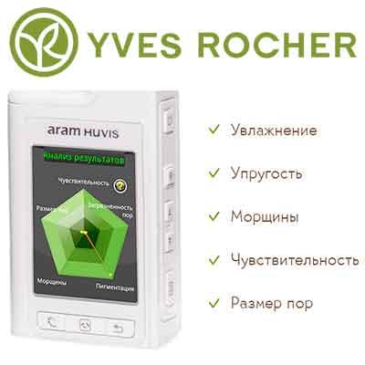 Бесплатная диагностика лица Yves Rocher