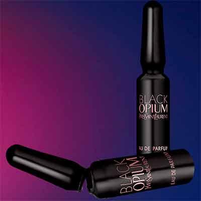 Бесплатный пробник духов Black Opium