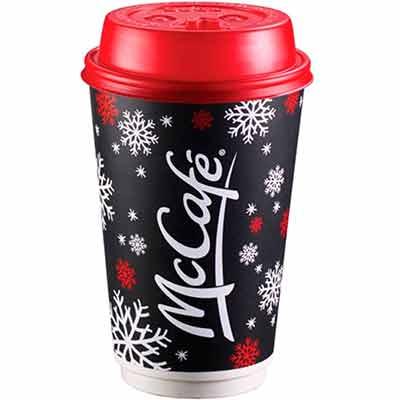 Бесплатный стакан McDonalds