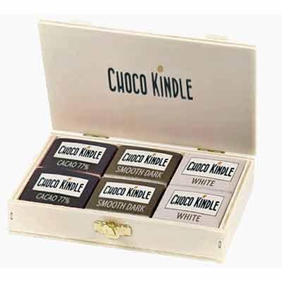 Бесплатный темный шоколад от Choco Kindle