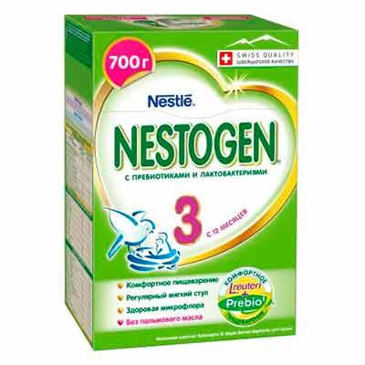 Бесплатная молочная смесь Nestogen 3