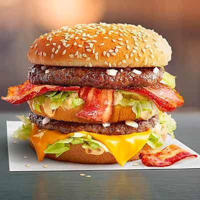 Биг Мак Бекон vs Биг Мак Розыгрыш 100 000 бургеров