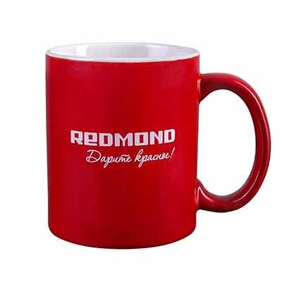 Бесплатная керамическая кружка REDMOND