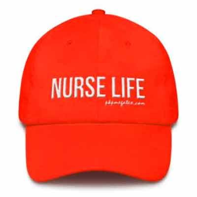Бесплатная кепка, посвящённая дню медсестры