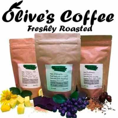 Бесплатное оливковое кофе