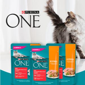 Бесплатное тестирование корма Purina One для стерилизованных кошек