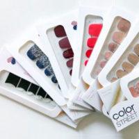 Бесплатные наклейки Color Street для ногтей