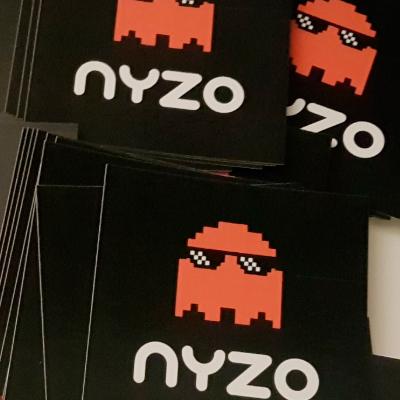 Бесплатные наклейки Nyzo