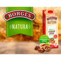Тестирование ореховых напитков Borges Natura