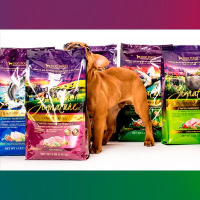 Бесплатный корм для собак Zignature