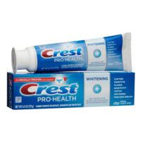 Бесплатная зубная паста Crest