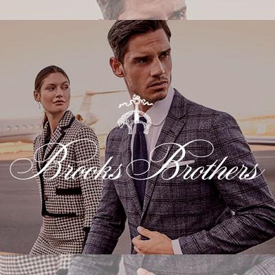 Бесплатный каталог одежды Brooks Brothers
