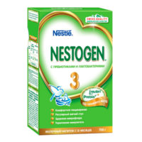 Тестирование молочка Nestogen 3