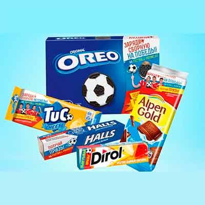 Бесплатная акция «Заряжайтесь энергией футбола» в сетях магазинов Пятёрочка или Перекресток