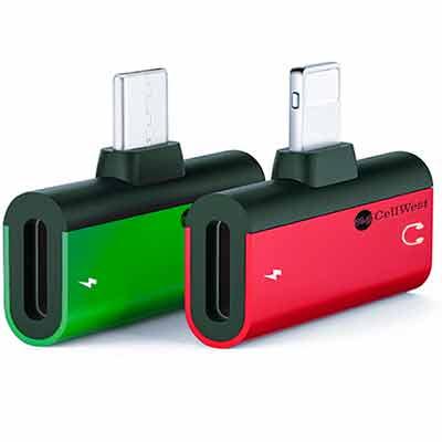 Бесплатный адаптер для наушников и зарядное устройство для мобильных телефонов